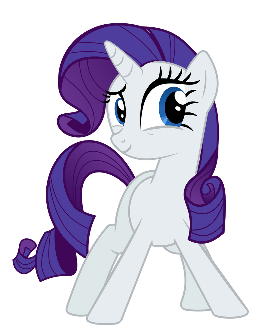 Rarity's stare by alexiy777