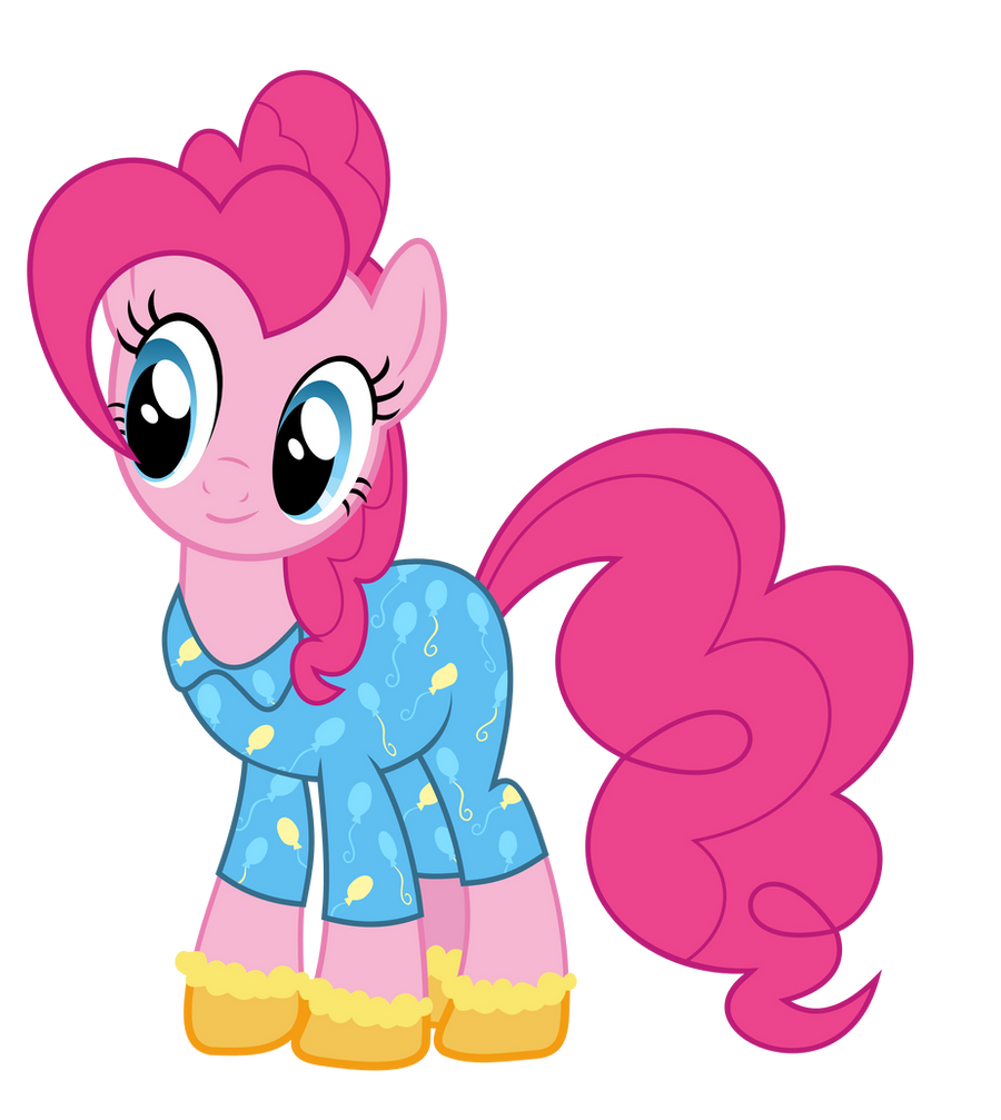Pinkie in pajamas and socks#2 by alexiy777