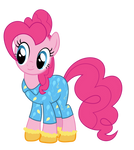 Pinkie in pajamas and socks#2