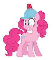Pinkie in a helmet by alexiy777