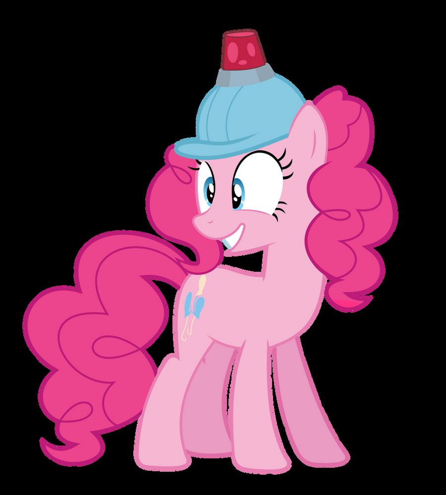Pinkie in a helmet by alexiy777