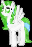 Crystal Ghost Alicorn by alexiy777