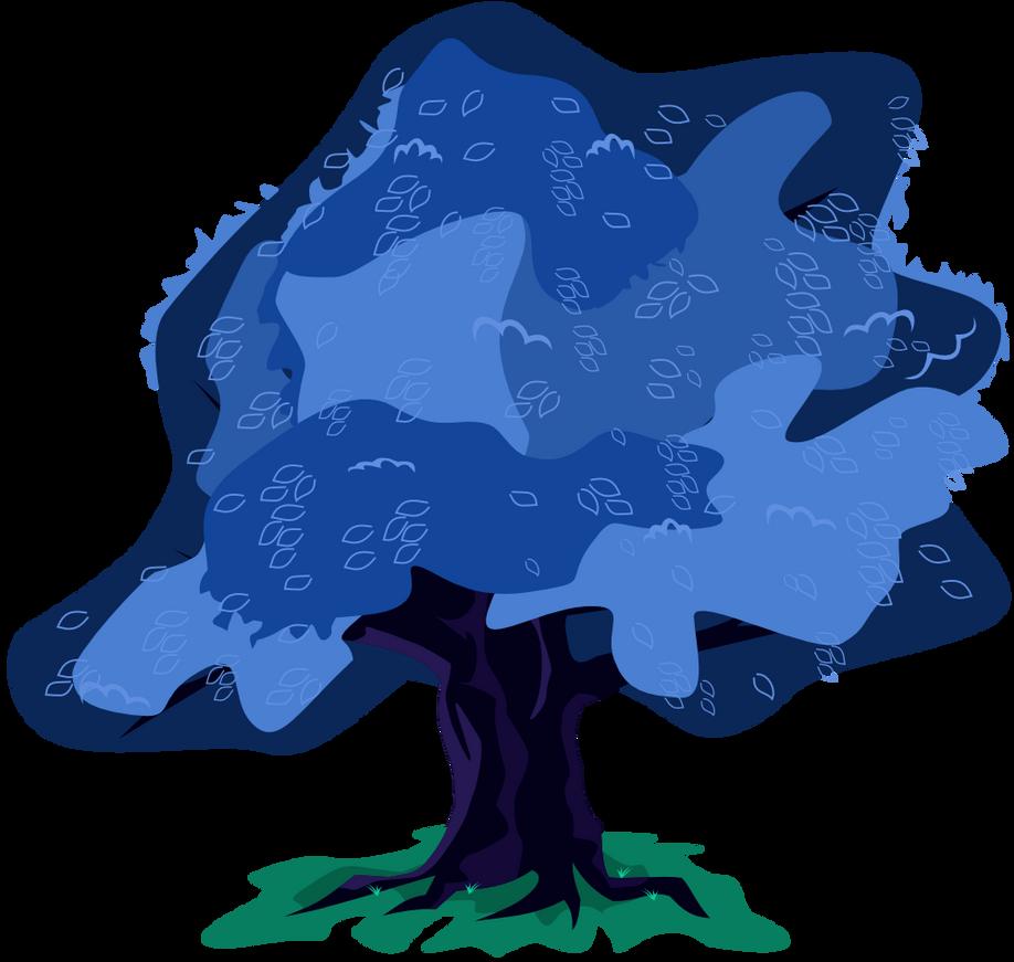 Blue Tree by alexiy777