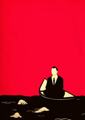 As I watch them drown