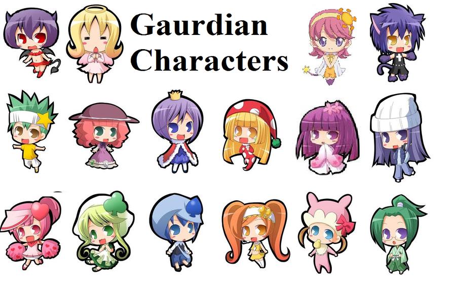 Shugo Chara Guardian Character by bubblingblue on DeviantArt