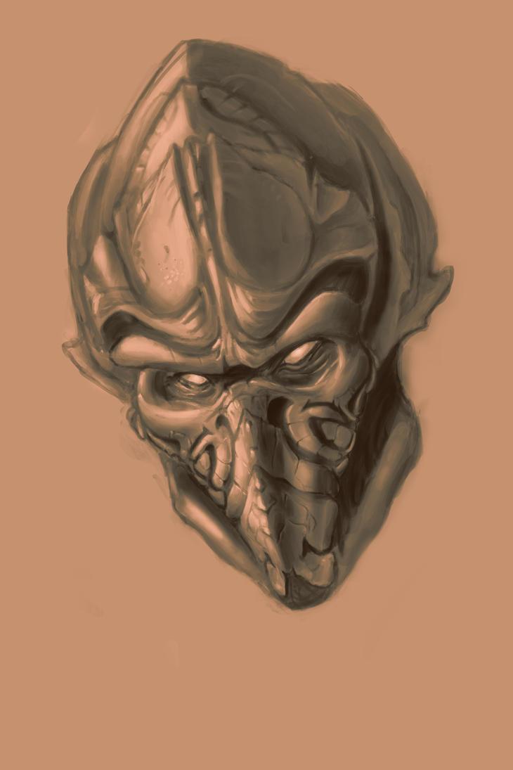 Fenix A Protoss Portrait Wip By Jinshin On Deviantart
