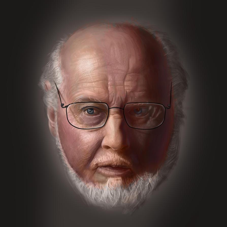 John Williams Portrait by Jinshin