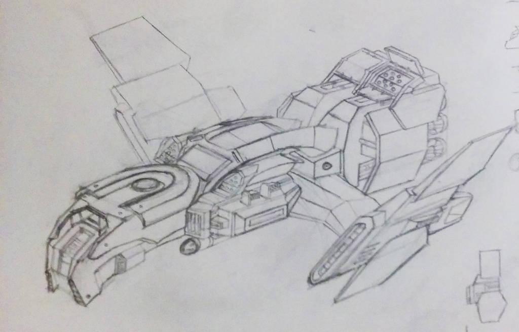 Apollyon Concept Art by Jinshin
