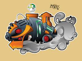 Organic Graffiti by sevasuno