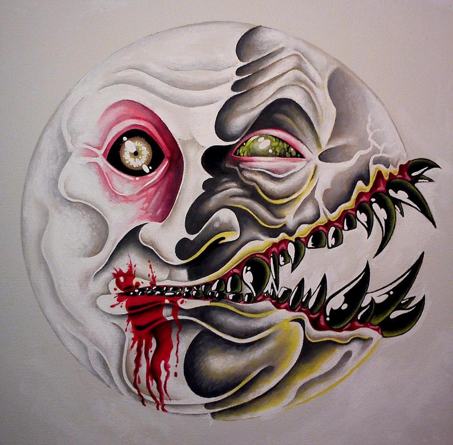 Smiley Monster Face Man by sevasuno on DeviantArt