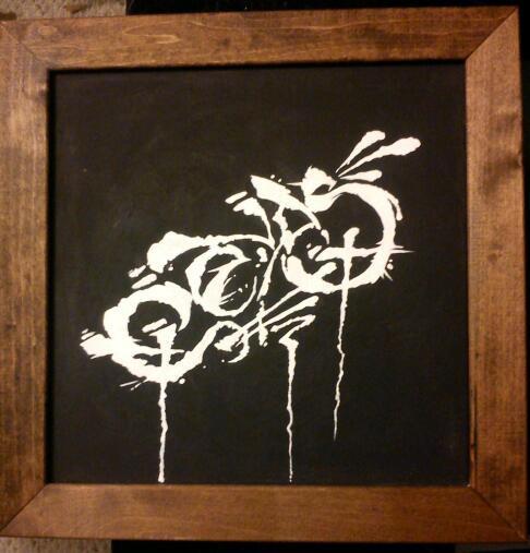 Quick canvas piece