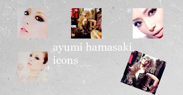ayumi hamasaki Icons + Wallpaper by chibisasukechan