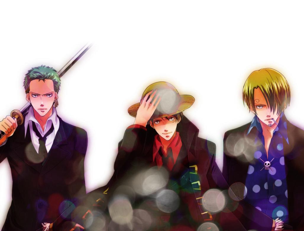 Luffy Zoro Sanji Wallpaper Hd Gambarku