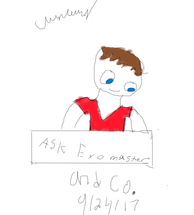 Ask acount open '' ASK HERE '' by Exomaster5523