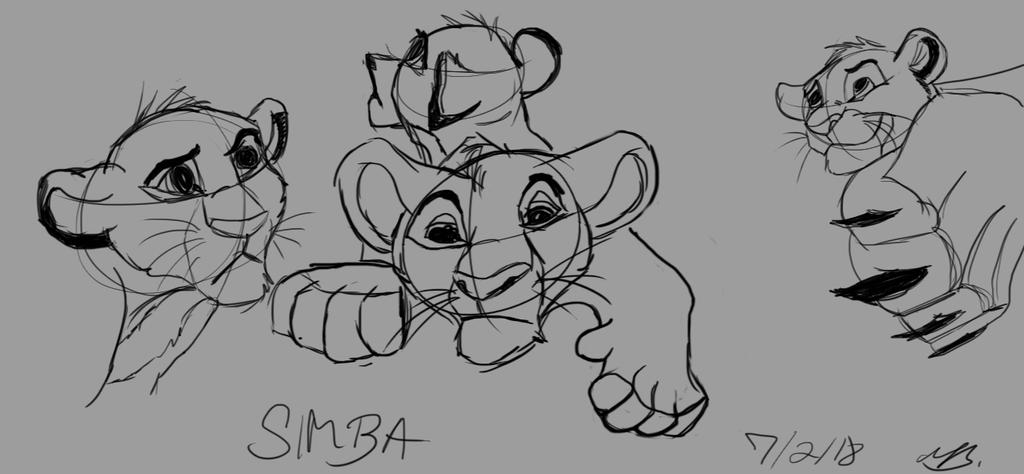 Simba Practice by valued-vestige