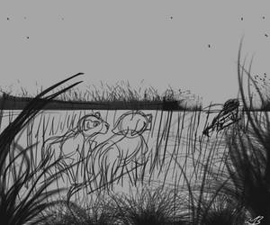 Day 3: Through the Grasslands sketch by valued-vestige