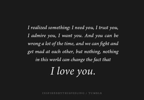 I love you by leoFire330