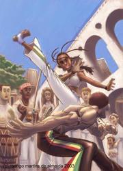 capoeira art