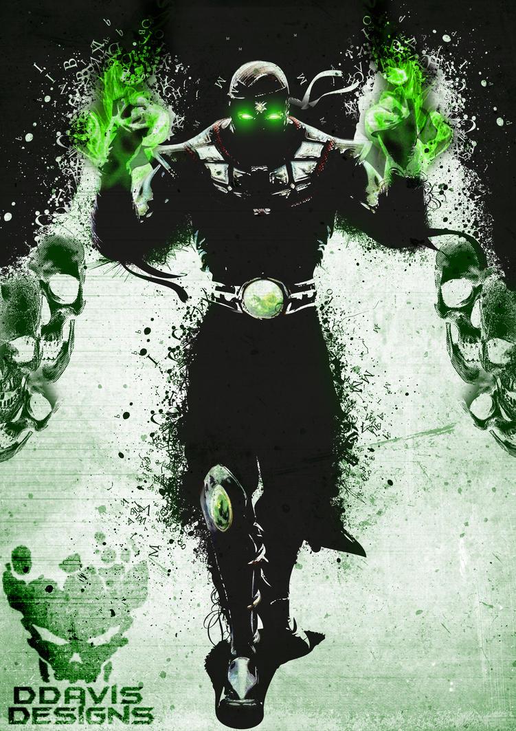 Ermac From Mortal Kombat By DDavis93