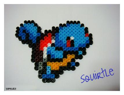 Perler Beads: Squirtle by Yamisuke