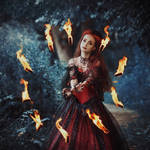 Close to the Flame by MariannaInsomnia
