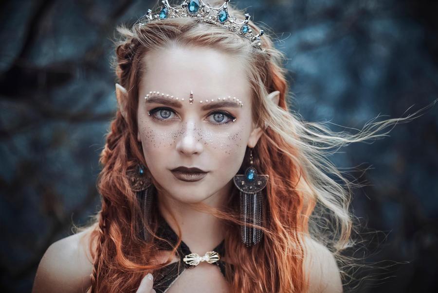 Elf Princess by MariannaInsomnia