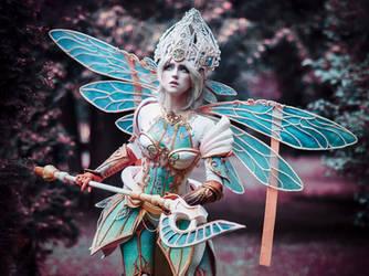Warrior Fairy by MariannaInsomnia