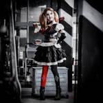Harley Quinn Arkham Knight by MariannaInsomnia