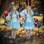 Alices in Wonderland by MariannaInsomnia