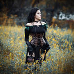 The Witcher 3: Wild Hunt - Yennefer cosplay by MariannaInsomnia