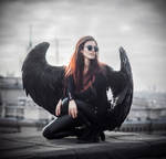 Good omens: Crowley by MariannaInsomnia