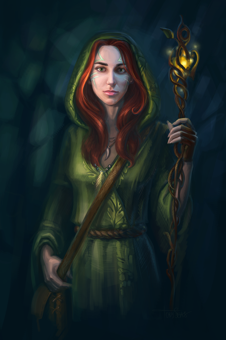 Druid by TorySevas