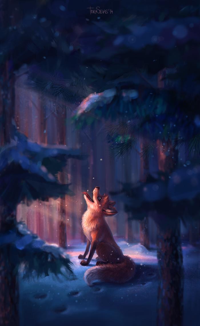 Fox by TorySevas