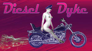 Diesel Dyke - typography by stefamarchwiowna