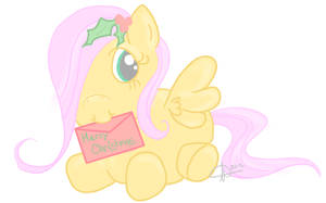 Christmas Baby Fluttershy