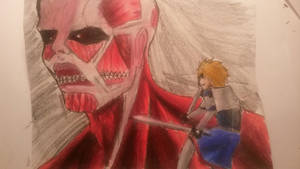 janga vs titan!! by demiselight88