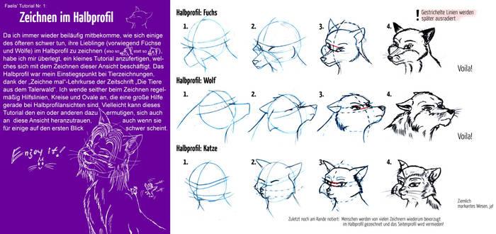 Tutorial - Drawing Half Profil by StarlightsMarti