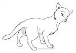Cat Template 01 by Faelis-Skribblekitty