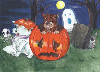 Happy Halloween by StarlightsMarti