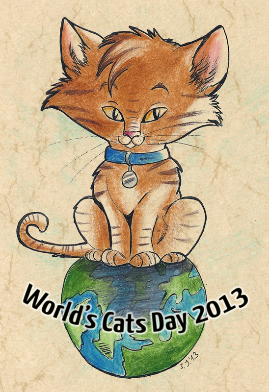 World's Cats Day by StarlightsMarti