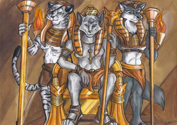 Pharaoh Brotherhood by Faelis-Skribblekitty