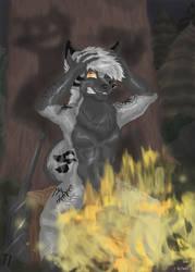 Ominous Shadows by Faelis-Skribblekitty
