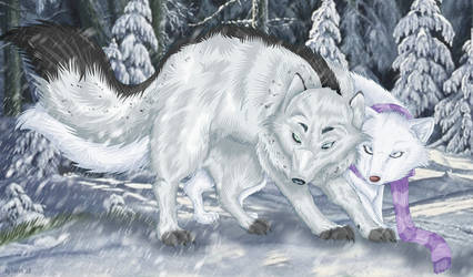 The Guardin Fox by StarlightsMarti