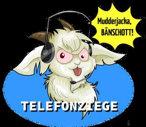 Goatribution to Telefonziege by StarlightsMarti