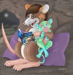 Bedtime Stories by Faelis-Skribblekitty