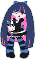 Pixel Art Stocking by D1st0rtedFate