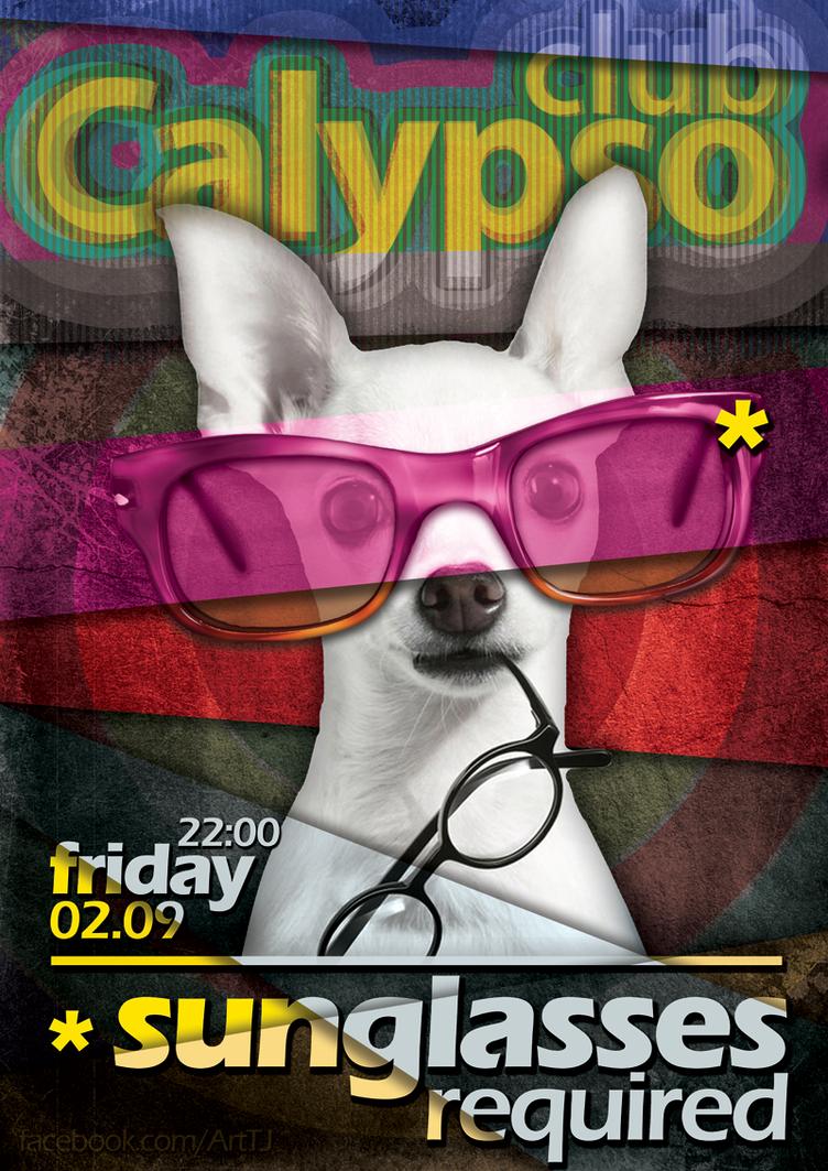 Poster for Club Calypso by tomijovanoski