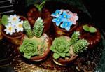 Plant cupcakes