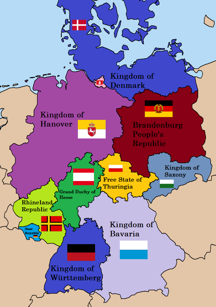 germany divided 1945 by danybul