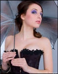 Corset and Parasol